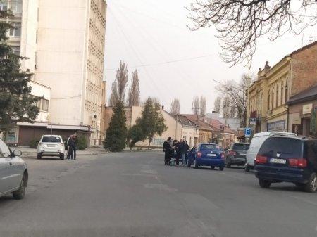 В Ужгороді трапилась ДТП: постраждала жінка