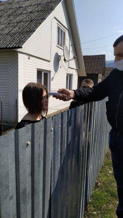 На Рахівщині поліція перевіряла  людей які на самоїзоляції