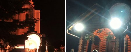 Великодня ніч в ужгородських храмах відбулася, віряни освятили свої паски (відео)