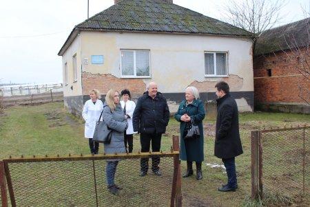 У селі Великі Ком'яти капітально відремонтували фельдшерсько-акушерський пункт