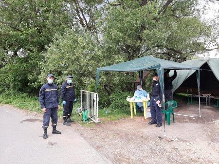 На в'їзді до села Ворочево на Перечинщині встановили пропускний пункт