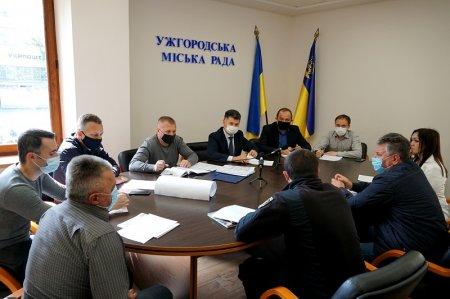 В Ужгороді засідала транспортна комісія