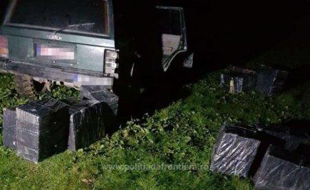 На кордоні Румунії та Закарпаття затримали 2 автомобіля з сигаретами (ФОТО)