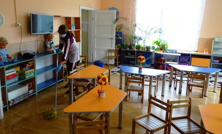 Усі шість дитсадків  Виноградова  готові відновити роботу після карантину