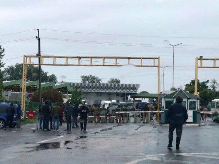 Перевізники заблокували прикордонний перехід Загонь – Чоп (фото)
