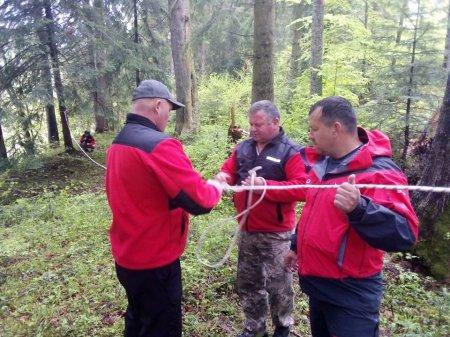 На Рахівщині рятувалиники провели чергові навчання (ФОТО)