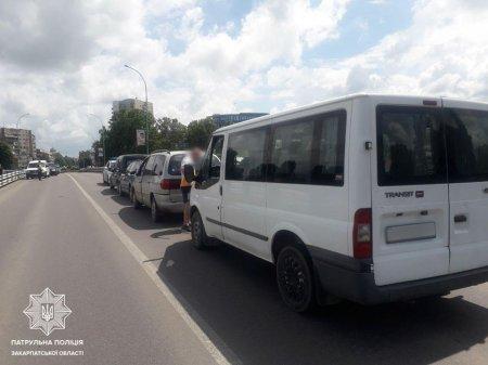 В Ужгороді сталася ДТП за участі чотирьох автомобілів