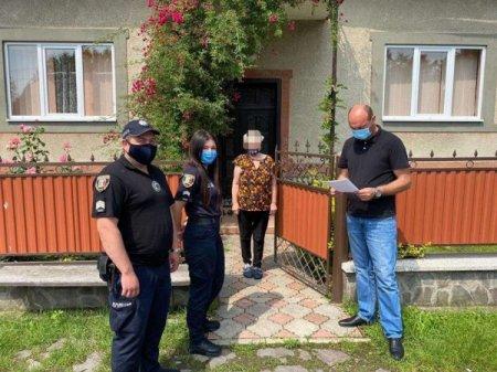 На Тячівщині проходять рейди - перевірки щодо осіб, які перебувають на самоізоляції (фото)