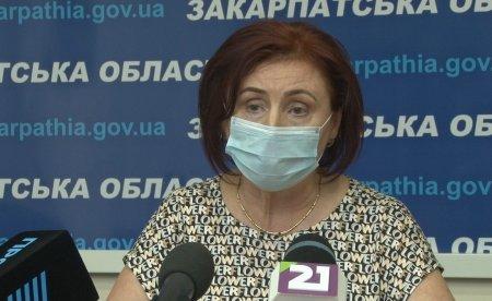 Єлизавета Біров звільнилась з посади Директора департаменту охорони здоров'я Закарпаття