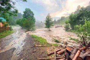 Мокрий червень-2020. Кількість опадів у Закарпатті подекуди більш ніж удвічі перевищила норму