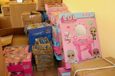 Конфісковані на митниці  іграшки отримають Закарпатські діти