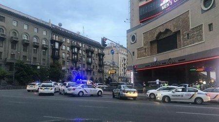 Масові розбірки з стріляниною сталися в центрі Києва (відео 18+)