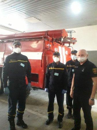 Готовність техніки та особового складу ДСНС Міжгірщини вивчав очільник закарпатських рятувальників