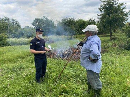 Ужгородські рятувальники запобігали пожежам в екосистемах
