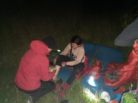 Травмованій в горах львів'янці допомогу надавали рятувальники (фото)