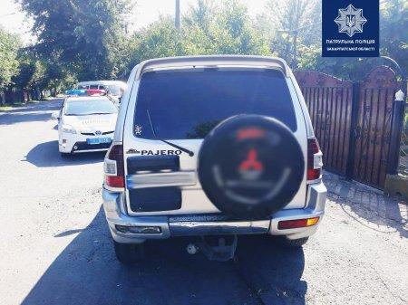 Закарпатські патрульні не взяли 200 дол. хабара: В Ужгороді п'яний водій намагався відкупитися
