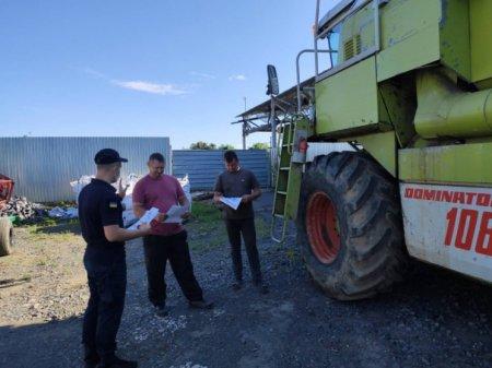 Рятувальники перевірили сільськогосподарські підприємства Ужгородщини