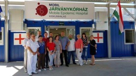 Наші лікарі вивчали угорський досвід боротьби з коронавірусом