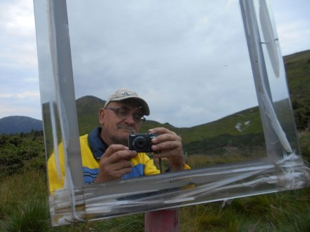 У горах Рахівщини встановили дзеркало (ФОТО)