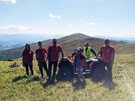 Закарпатські рятувальники опікуються безпекою учасників міжнародних змагань з парапланеризму