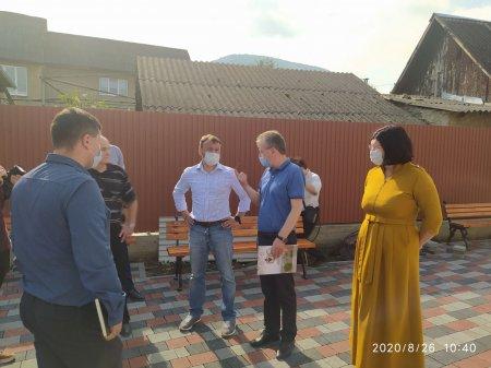 Голова Закарпатської ОДА Олексій Петров відвідав Тячів