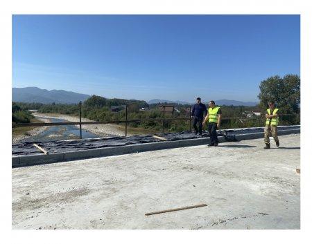 Завершення будівництва буштинського моста планується на кінець жовтня