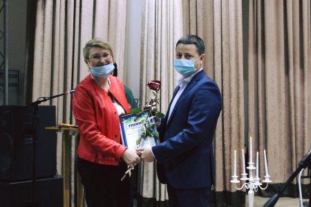 Освітян Виноградівського району привітали з професійним святом