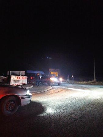 ДТП на Хустщині, мікроавтобус перекинувся на бік (фото)