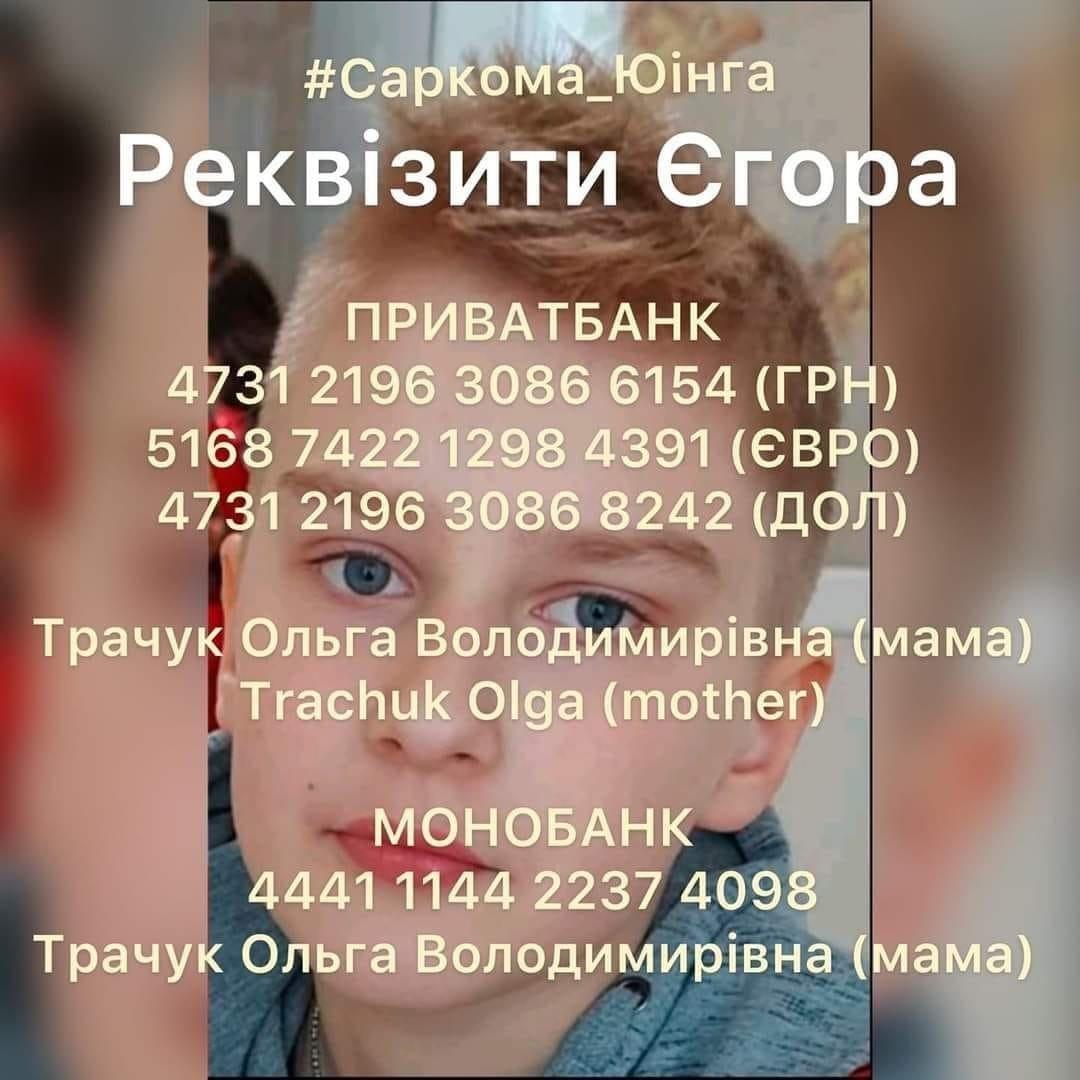 Ужгородські студенти започаткували благодійний флеш-моб на підтримку Єгора Сипавки