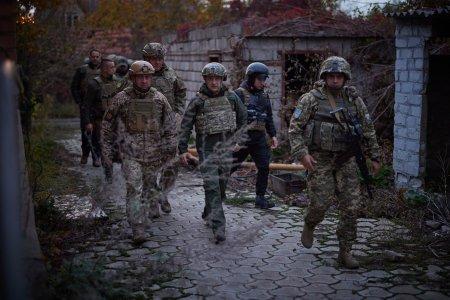 Президент відвідав передові позиції Закарпатської 128 ОГШБр у зоні проведення ООС